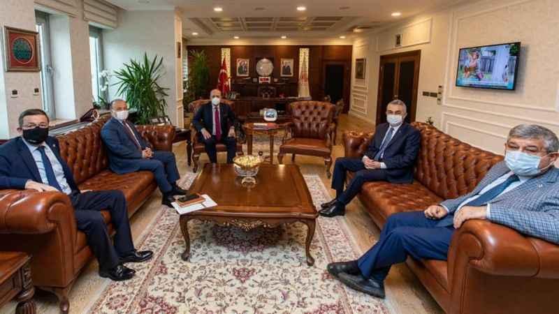 Aydınlı vekiller, Bakan Bilgin'i ziyaret etti