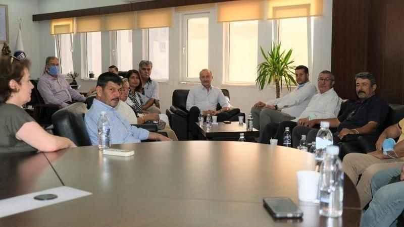 İttifak ortaklarından Başkan Atabay'a ziyaret