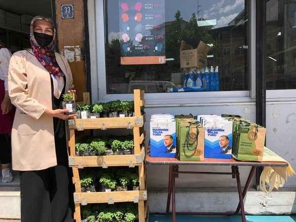 AK kadınlar, daha yeşil bir çevre için çalışıyor