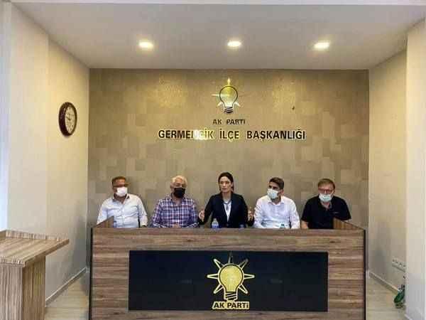 AK Parti MKYK Üyesi Sarıbaş'tan Başkan Bircan ve yönetimine ziyaret