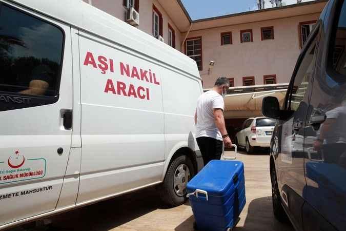 Aydın'daki aile sağlığı merkezlerinde BioNTech aşısı uygulanmaya devam ediyor