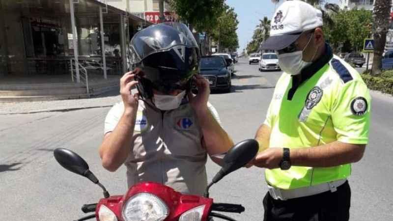 Aydın'da motosikletlere sıkı denetim