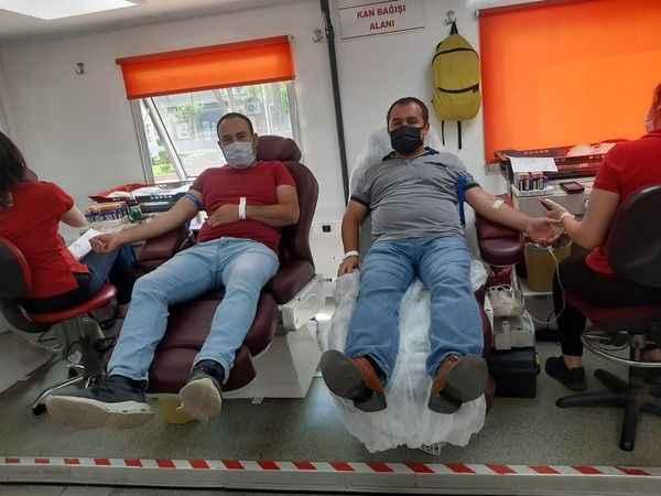 MHP Çine Teşkilatı, kanlarıyla can oldu