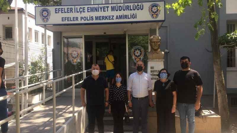 UCİM Aydın'dan Emniyet Müdürü Erciyes'e tebrik