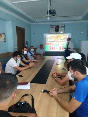 Yıldızsporlu antrenörüler eğitim seminerine katıldı