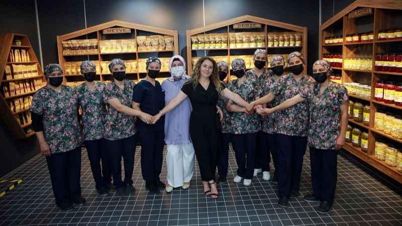 Aydınlı kadın girişimcinin, devlet desteğiyle büyüttüğü tesis törenle açıldı