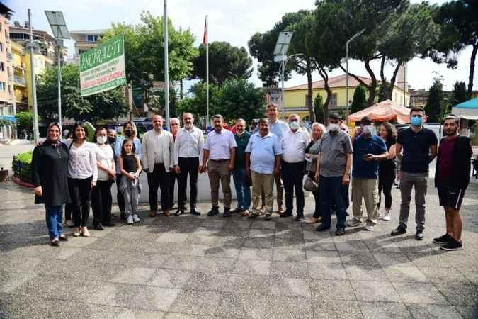 İYİ Parti'den Başkan Kaya'ya ziyaret