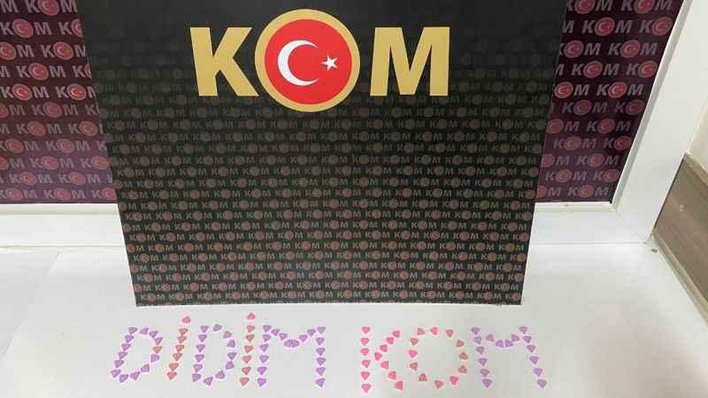 İzmir-Didim arası hap ticareti polise takıldı