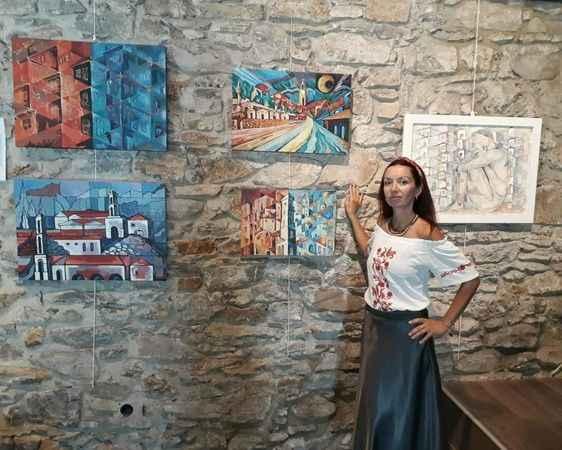 Türk dostu Ukraynalı sanatçıdan resim sergisi