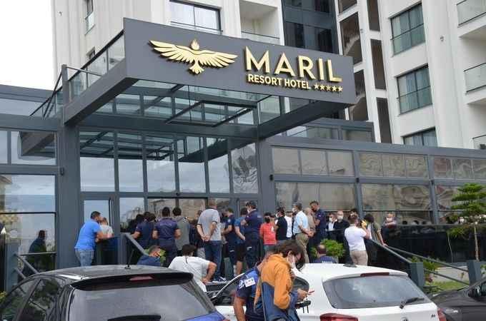 Skandal otel bu kez de ruhsat sebebiyle mühürlendi!