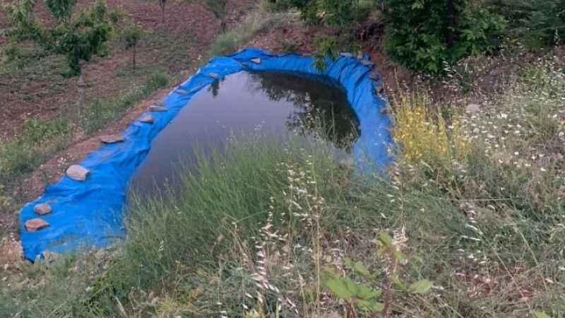 Sulama havuzuna düşen çocuk öldü
