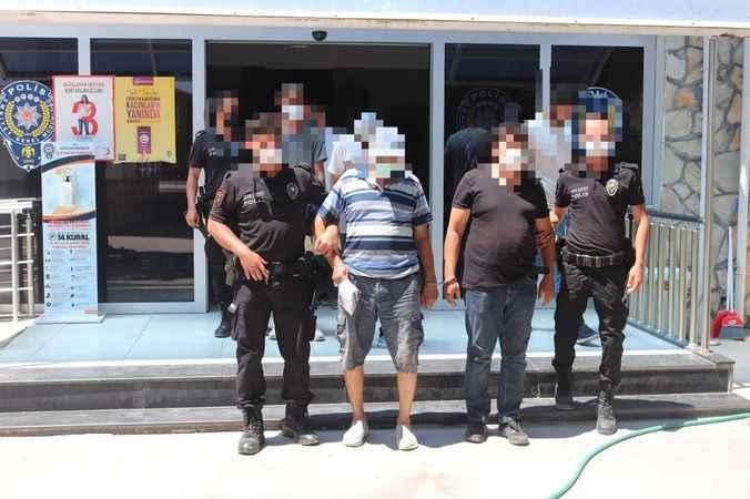 Aranması olan 5 şahıs tutuklandı