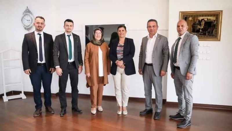 Başkan Çerçioğlu, Gelecek Partisi Aydın İl Yönetimi'ni konuk etti