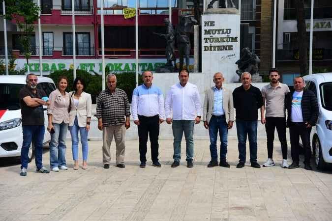 Büyükşehir Belediyesi, İncirliova Belediyesi'ne 5 araç tahsis etti
