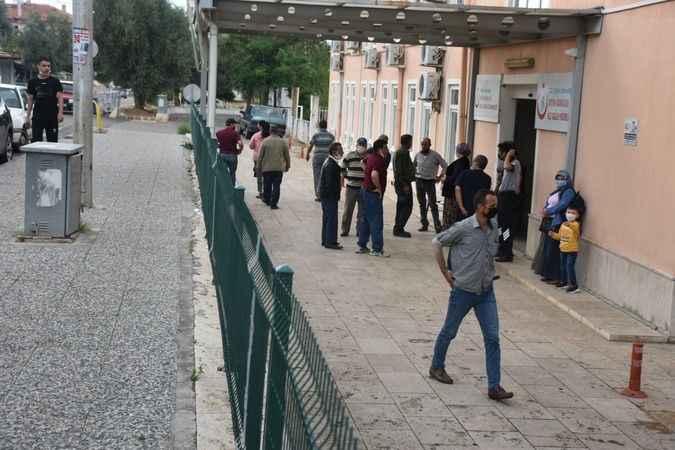 Karacasu'da aşıya yoğun ilgi