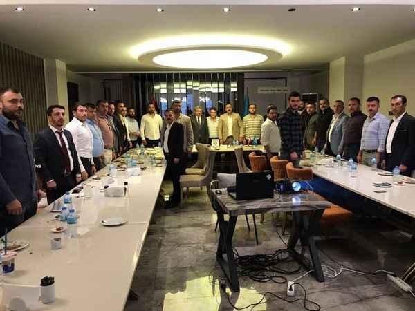 Ülkü Ocakları İlçe Başkanları toplantısı yapıldı