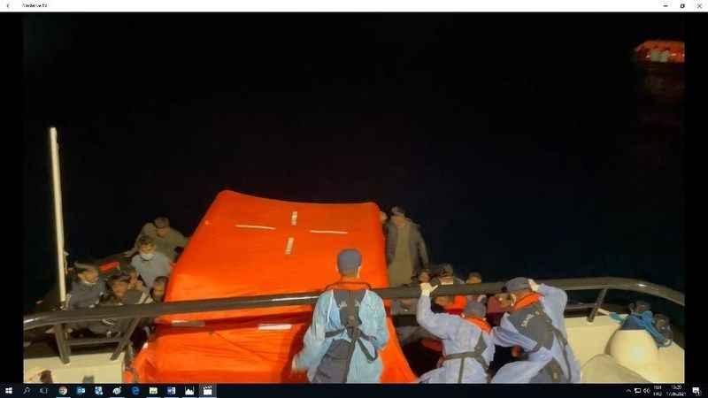Aydın'da 84 sığınmacı kurtarıldı
