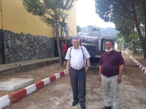 """""""Karacasu İçin Birlik Olduk"""" projesinde makine kurulumları başladı"""