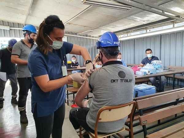 OKT Trailer çalışanlarına Covid-19 aşısı
