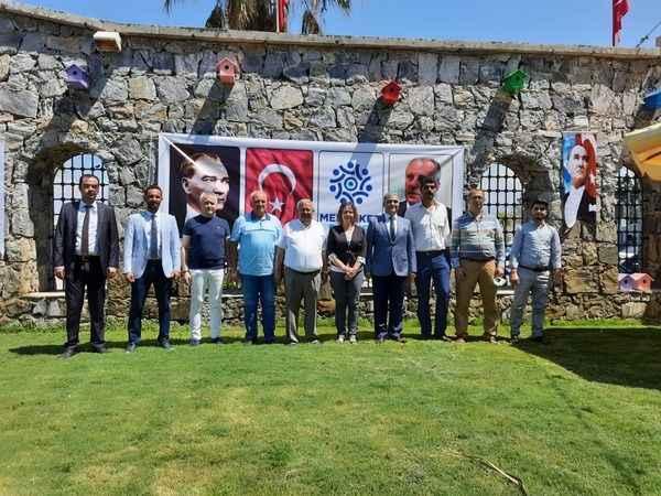 Memleket Partisi'nin Aydın il yönetimi ve ilçe başkanları tanıtıldı