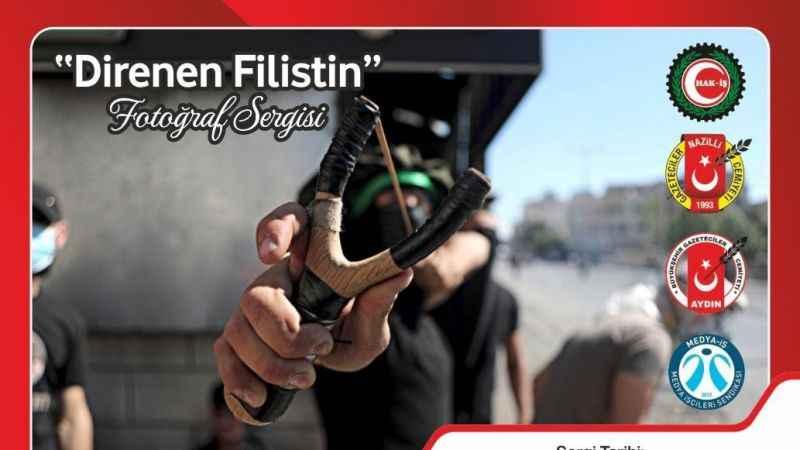 Nazilli'de 'Direnen Filistin' fotoğraf sergisi açılacak
