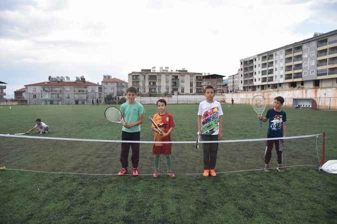 Karacasu'da spor sevgisi