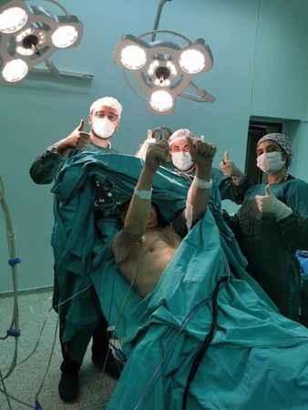 Aydın'da 'uyanık beyin tümörü ameliyatı' yapıldı