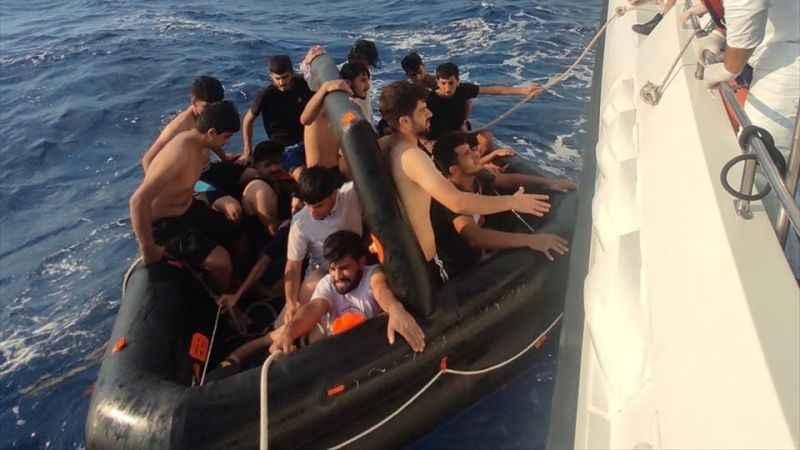 Aydın'da 100 sığınmacı kurtarıldı