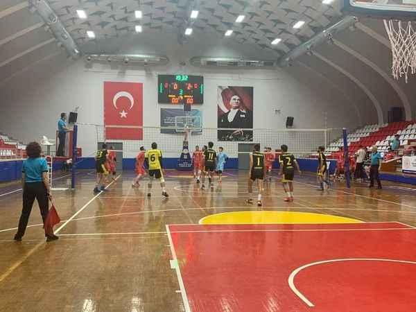 Aydın'da voleybol erkekler bölgesel finali heyecanı