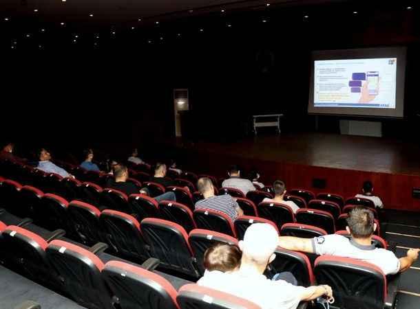 Nazilli Belediyesi çalışanları online afet eğitimi aldı