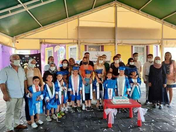 Aydın Devlet Hastanesi Kreşinde mezuniyet heyecanı