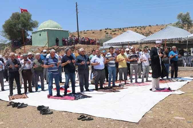 Bozdoğan'da vatandaşlar, yağmur duasına çıktı