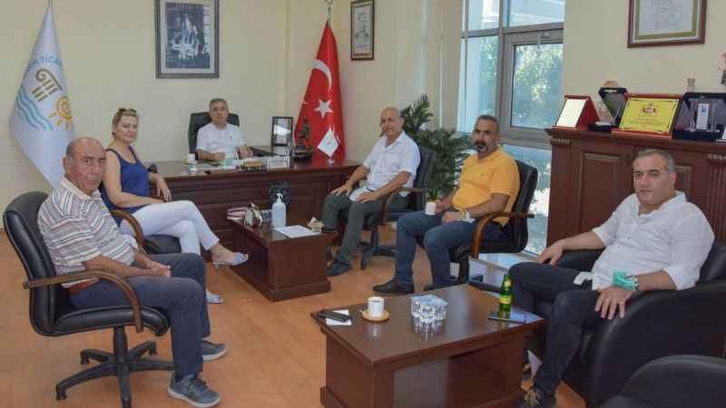 MEM Müdürü Şap'tan Ticaret Odası'na ziyaret