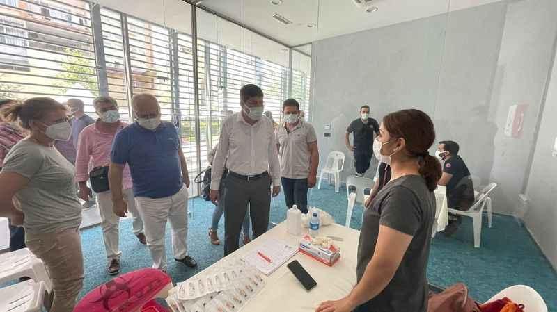 Nazilli'de Covid-19 Aşı Merkezi açıldı