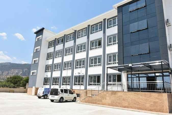 Buharkent'te lise inşaatı tamamlandı