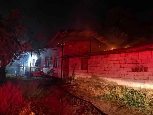 Nazilli'de feci yangın: 1 ölü