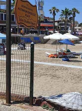 """Didim """"Engelsiz Plaj"""" sezonu açtı"""