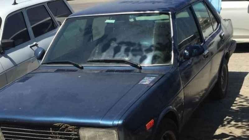 Trafikten düşürülmesine rağmen kullanılan araç polisin gözünden kaçmadı