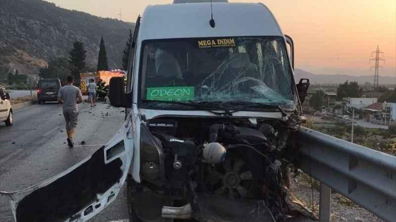 Aydın'da kaza; 8 yaralı