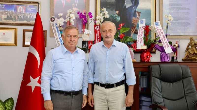 CHP PM Üyesi Zeybek'ten, Atabay'a ziyaret