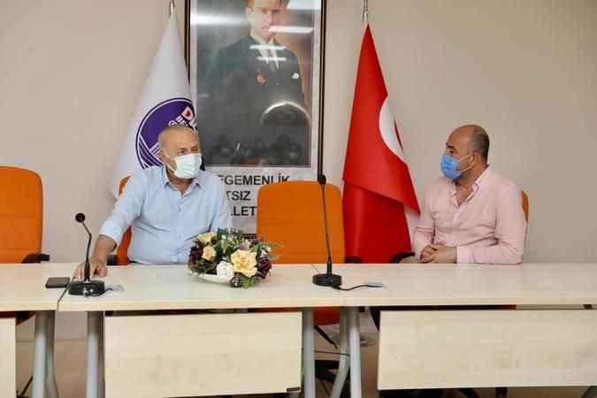 Genel-İş Sendikası'ndan Başkan Atabay'a destek ziyareti