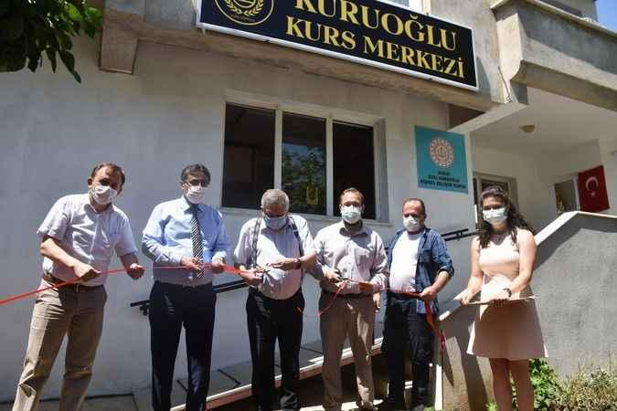 Karacasu'da Kuruoğlu Kurs Merkezi açıldı