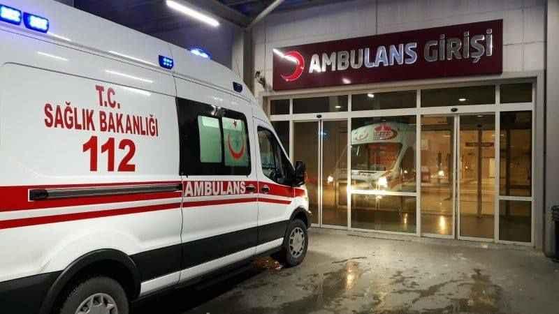 Elektrik akımına kapılan Afganistan uyruklu kişi yaralandı