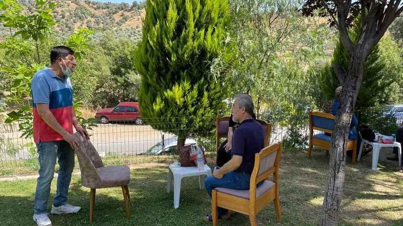 Başkan Özcan, YKS adaylarını yalnız bırakmadı