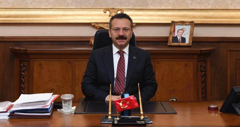 """Vali Aksoy: """"849 bin 176 aşı yapıldı"""""""