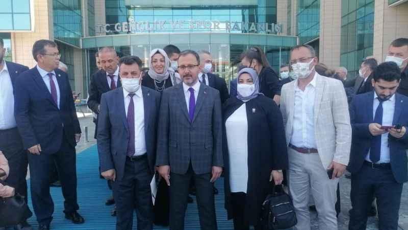 AK Partili Subaşı, Ankara'dan eli boş dönmedi