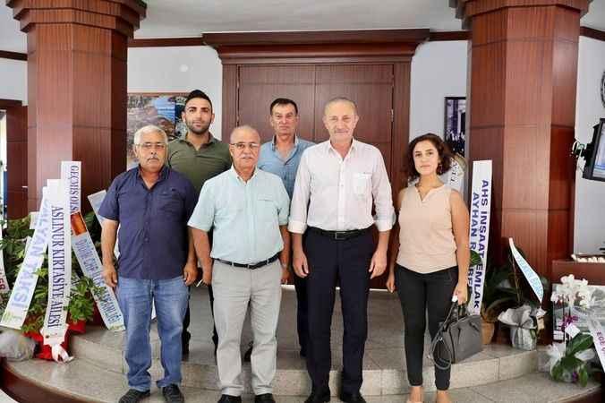 Atabay'a geçmiş olsun ziyaretinde destek mesajları verildi