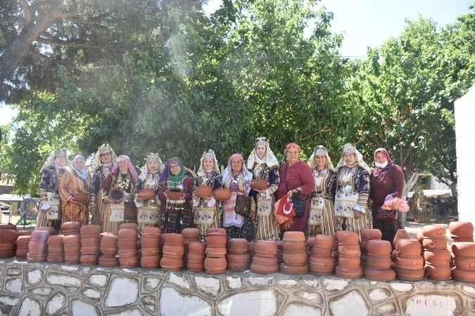 Karacasu'da Çömlek Çalıştayı'nın açılışı yapıldı