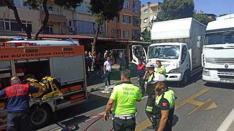 Nazilli'de karayolunda kaza, 1 yaralı
