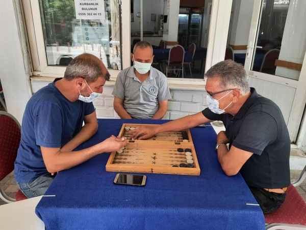 Aydın'da yasak kalktı, oyun masaları kuruldu